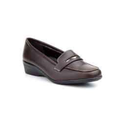 Zapatos Mocasines  Mujer Piel