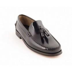 Zapato Castellano Negro Con...