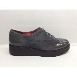 Zapato Ofxord Mujer Ante