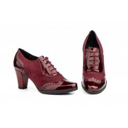 Zapatos Mujer Burdeos...