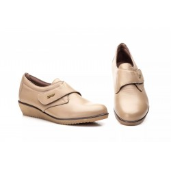 Zapatos Mujer Piel Taupe...