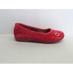Zapatilla Mujer Suapel Rojo
