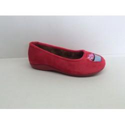 Zapatillas Mujer Suapel Rojo