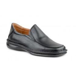 Zapatos Hombre Piel Negro...