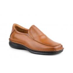 Zapatos Hombre Piel Coñac...